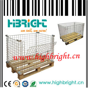 Wire Mesh Pallet Promotion Cages pictures & photos