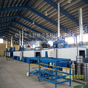 Steel Drum Making Equipment Drying Path After Washing pictures & photos