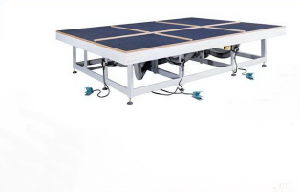 Glass Air Cushion Table, Manual Glass Cutting Table pictures & photos