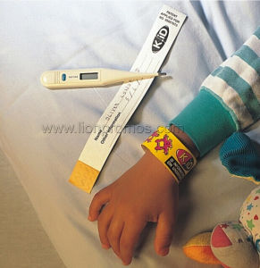 Medical Health Care in Patient Idification Tyvek Wrist Band pictures & photos