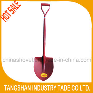 High Quality Whole Steel Handle Point Shovel pictures & photos