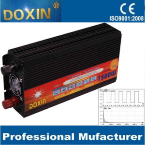 DC to AC 12V 24V 1500W Modified Sine Wave Power Inverter pictures & photos