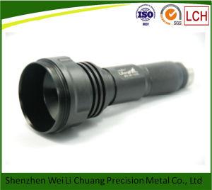 China Custom Newest Quality CNC Machined Flashlight Case