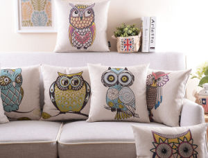 Animal Transfer Printed Cushion Fashion Decorative Cushion (SPL-436) pictures & photos