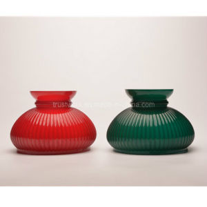 Handblown Natural Color Vintage Oil Lamp Shade pictures & photos