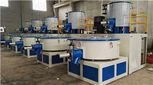 SRL-Z300/600 Hot/Cool Combined Mixer for Plastic Mixing Machine pictures & photos