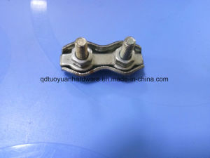 Qingdao Factory Marine Hardware DIN741 Stainless Steel Wire Rope Clamp pictures & photos