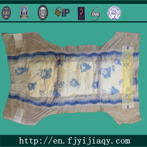High Quality Magic Tape Elastic Waist Band Disposable Baby Diaper pictures & photos