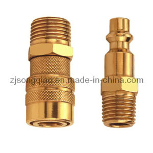 Lam American Type Single Shut-off Quick Coupling (BRASS) pictures & photos