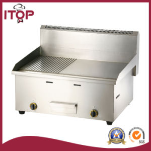 Industrial Stainless Steel Gas Griddle (PGT) pictures & photos