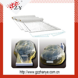Auto Transparent Masking Film for Car Painting Protection pictures & photos