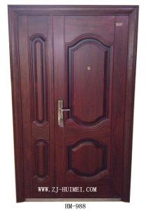 Steel Security Door, Son Mother Door, Exterior Door, Interior Door