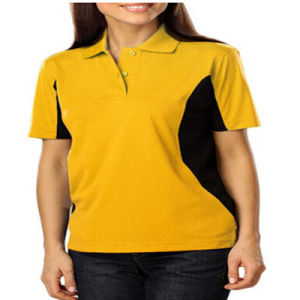 China dry fit women 100 polyester polo shirt china polo for Women s dri fit polo shirts wholesale
