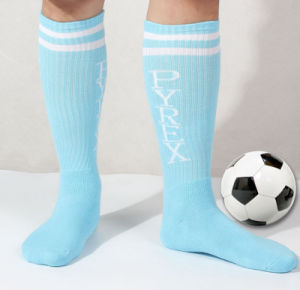 Wholesale New Design Fashion Cotton Sport Wick Sweat Colorful Football Stockings pictures & photos