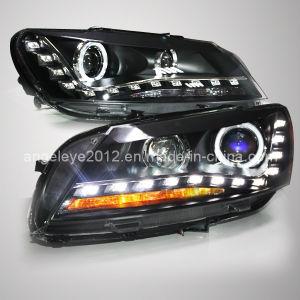Passat B7 LED Headlamp Angel Eyes for Vw