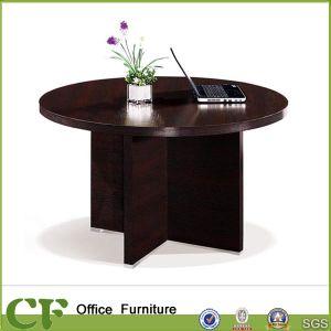 Luxury Heavy 45mm Top Wooden Round Conference Table for Office (CD-83306) pictures & photos