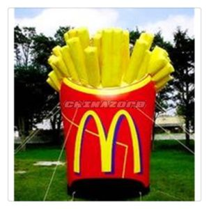 M Product Model Inflatable Advertising Replica for Business Promotion