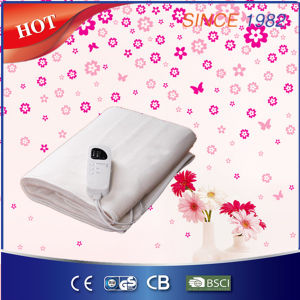 Popular Heating Wire Element Electric Under Blanket with Timer pictures & photos