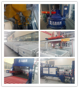 Fireproof Cement-Foamed Insulation Board Equipment pictures & photos