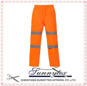 100% Cotton Heavy Weight Reflective Flame Retardent Work Safety Pants pictures & photos
