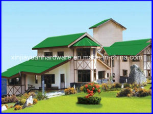 Color Coated Corrugated Roofing Sheet, Corrugated Steel Sheet for House pictures & photos