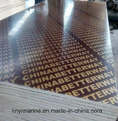 Building Material Decoration Plywood Black/Brown Film Faced Plywood for Construction pictures & photos