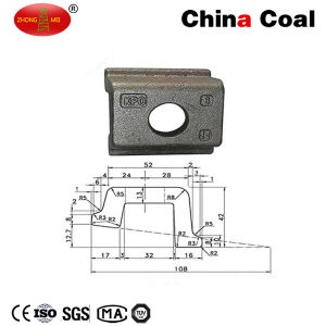 Railway Clamp Kpo Colored or HDG for Rail Fastening pictures & photos
