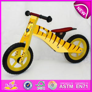 Hot Sale High Quality Wooden Bike, Popular Wooden Balance Bike, New Fashion Kids Bike Factory W16c076 pictures & photos