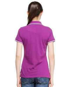 Custom 100% Cotton Polo Shirts Womens pictures & photos
