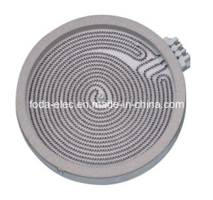 Duplex Winding Infrared Ceramic Coil Radiant Element Heating Plate (Duplex Winding 200mm)