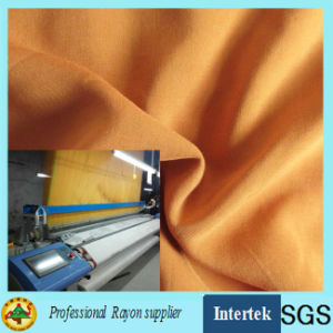 Factory Price Spun Rayon Fabric Made by Air Jet Loom pictures & photos