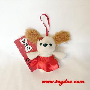 Plush Valentine Dog Key Ring pictures & photos