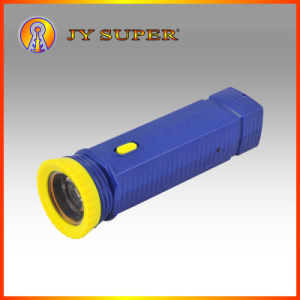 Jy Super Solar Gifts Solar Flashlight Torch with 1W LED Light for Emergency Use (JY-888)