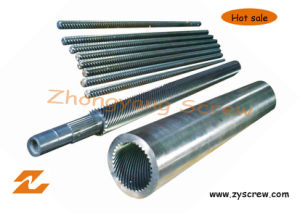 PE Sheet Extrusion Planetary Screw Barrel pictures & photos
