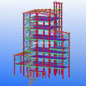 Three-Floor Factory Direct Steel Structure Warehouse/Workshop Building Design pictures & photos