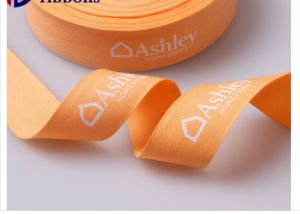 Wholesale Character Custom Printed Grosgrain Woven Ribbon and Printing Ribbon pictures & photos