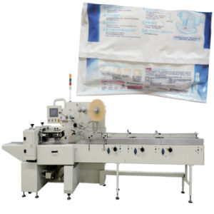 Tissue Paper Machine for Horizontal Pillow Baby Diaper Packaging Machine pictures & photos