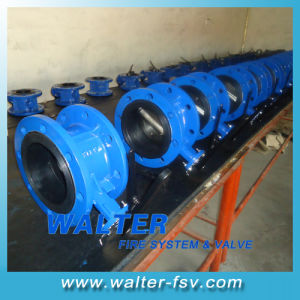 Flanged Gearbox Butterfly Valve for Waterwork pictures & photos