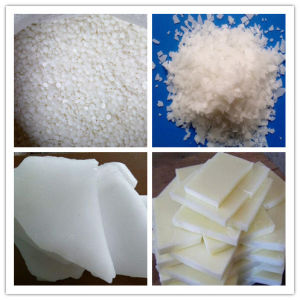 Best quality KUNLUN Fully-Refined & Semi-Refined Paraffin Wax lumps pictures & photos