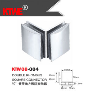 Glass Room Double Rhombus Square Connector (KTW08-004)