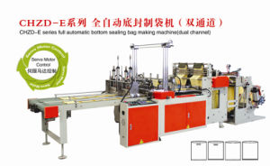 Automatic Bottom Sealling Bag Making Machine (Dual Channel) pictures & photos