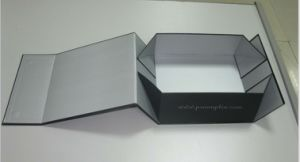Foldable Shoes Packaging Box, Clothing Packing Box pictures & photos