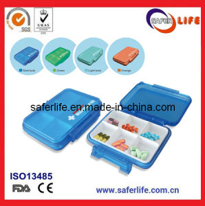 Multifuntional Waterproof Kit First Aid Pill Box Personal Medicine Case pictures & photos