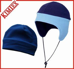 100% Polyester Winter Warm Fleece Cap (kimtex-54) pictures & photos