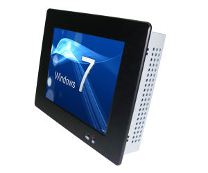 12.1′′ Fanless Deisgn Industrial Touch Panel Pc′s with Atom N2701.6GHz (IPPC-1227) pictures & photos