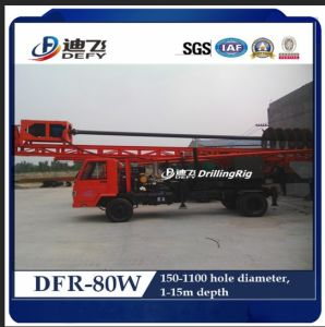 15m Dfr-80W Factory Price Truck Mounted Hydraulic Used Pile Driver pictures & photos