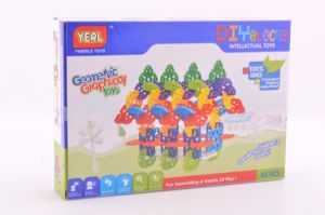 Geometry Snowflake Building Blocks Kids Toy pictures & photos