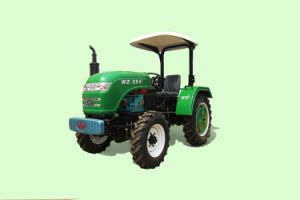 Waw Agricultural 35HP 4WD Chinese Tractor for Paddy Field pictures & photos