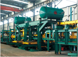 Foundry Air Flow and Squeeze Flask Moulding Machine