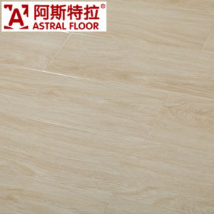Waxed AC3 HDF Crystal Diamond Surface (Great U-Groove) Laminate Flooring (AB2030) pictures & photos
